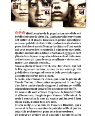 La Vie, août 2015