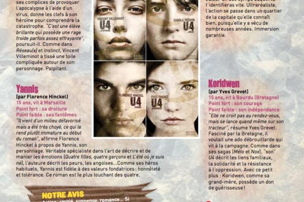 Le Monde des ados, page 2, septembre 2015