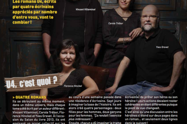 Le Monde des ados, page 1, septembre 2015