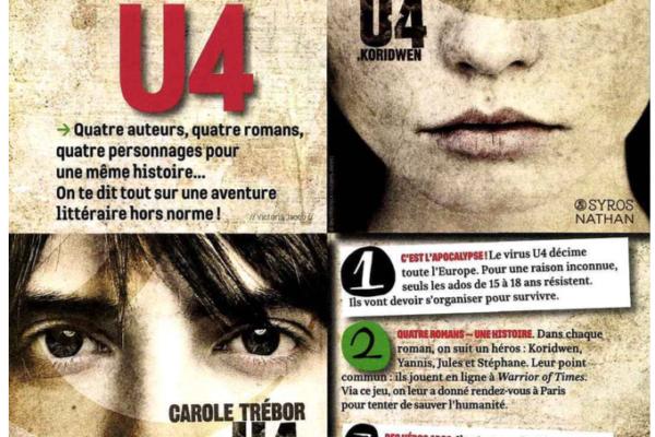 Je Bouquine page 1, septembre 2015