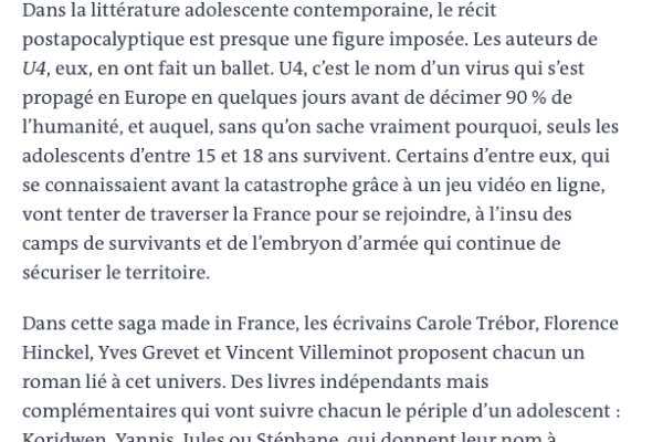 Le Monde, 3 août 2019