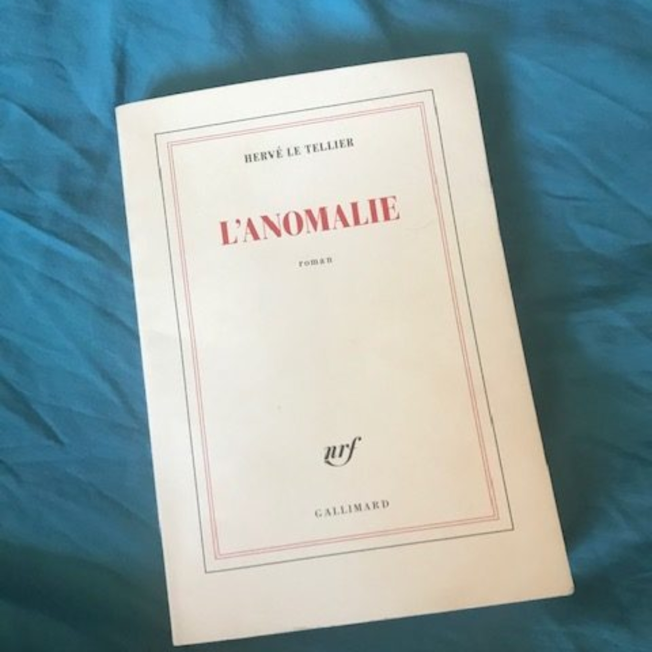 lecture #138 : L'anomalie